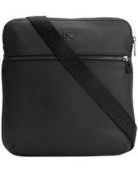 Armani Jeans - Monogram Messenger Bag - Lyst