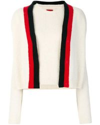 Moncler Gamme Rouge - Two Piece Knitted Top - Lyst