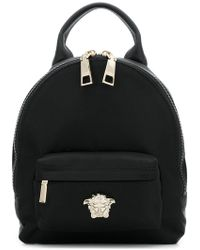 Versace - Medusa Palazzo Backpack - Lyst