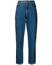MISBHV - Side Paint Stripe Jeans - Lyst