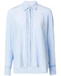 Mantu - Frilled Placket Shirt - Lyst