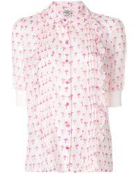 Baum und Pferdgarten - Palm Tree Print Shirt - Lyst