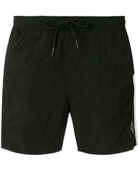 Marcelo Burlon - Stripe Drawstring Shorts - Lyst