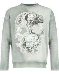 Avant Toi - Skull Sweatshirt - Lyst