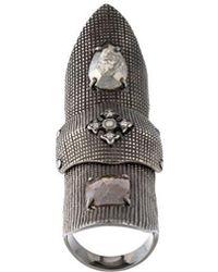 Loree Rodkin | Slave Bondage Fancy Diamond Ring | Lyst