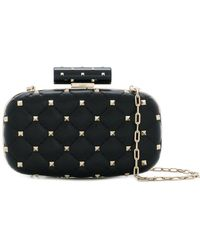 Valentino - Rockstud Spike Minaudière Clutch Bag - Lyst