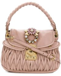 Miu Miu - Coffer Bag - Lyst