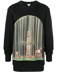 Loewe - Window Totem Print Sweatshirt - Lyst