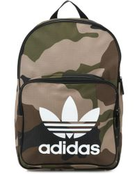 adidas - Trefoil Camouflage Backpack - Lyst