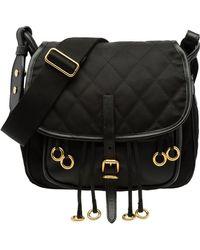 115d137e8fd7 Prada Corsaire Convertible Belt Bag in Black - Lyst