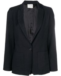 Forte Forte - Long-sleeved Fitted Jacket - Lyst
