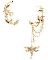 Alberta Ferretti - Ornate Dragonfly Ear Cuff - Lyst