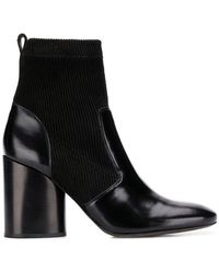 d32829a2b65f Lyst - Tory Burch  Bloomfield  Ankle Boots in Black