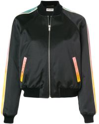 Saint Laurent - Panther Bomber Jacket - Lyst