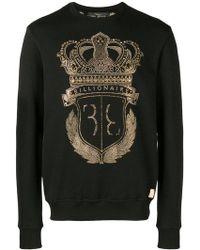 Billionaire - Logo Sweatshirt - Lyst