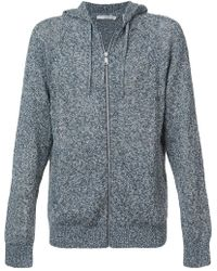 Vince - Knitted Hoodie - Lyst