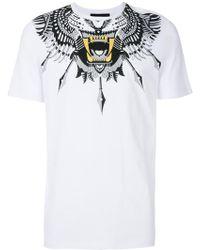 John Richmond - Print Fitted T-shirt - Lyst