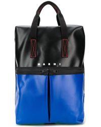 5476a055af Marni - Flutter Print Duffle Backpack - Men - Calf Leather polyamide ...