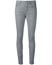 Guild Prime - Checked Skinny Jeans - Lyst