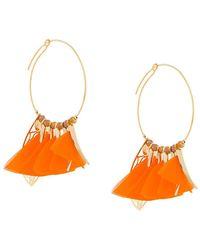 Gas Bijoux - Marly Hoop Earrings - Lyst
