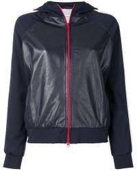 P.A.R.O.S.H. - Contrast-stripe Zipped Jacket - Lyst