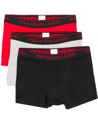 Polo Ralph Lauren - Pack Of Three Logo Band Briefs - Lyst