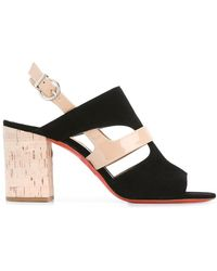 Barbara Bui - Cut-out Detail Sling-back Sandals - Lyst