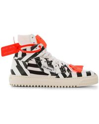 Off-White c/o Virgil Abloh - Striped 3.0 Off-court Sneakers - Lyst