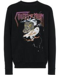 Marcelo Burlon - Owl Print Sweatshirt - Lyst