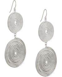 Petite Grand - Double Espiral Earrings - Lyst
