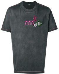 DIESEL - Treated Effect T-shirt - Lyst