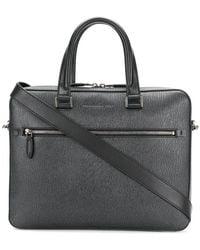 Ferragamo | Textured Laptop Bag | Lyst
