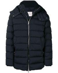 Moncler - Hooded Padded Coat - Lyst