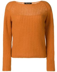 Loro Piana - Long-sleeve Fitted Jumper - Lyst