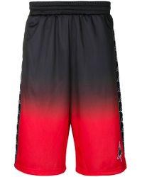 Marcelo Burlon - Kappa Gradient Shorts - Lyst