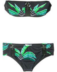 Amir Slama - Tropical Print Bikini Set - Lyst