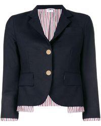 Thom Browne Drop Lining Wool Sport Coat