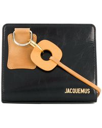 Jacquemus - Embossed Logo Shoulder Bag - Lyst