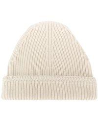 Maison Margiela - Ribbed Beanie Hat - Lyst