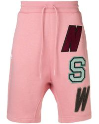 Nike - Patchwork Print Shorts - Lyst