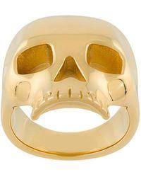 Northskull - Skull Ring - Lyst