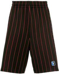 Alexander Wang - Striped Shorts - Lyst