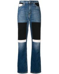 Calvin Klein - Patchwork Jeans - Lyst