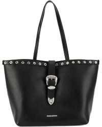DSquared² - Western Buckle Tote Bag - Lyst