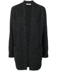 Vince - Knitted Oversized Cardigan - Lyst