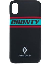 Marcelo Burlon - County Iphone X Case - Lyst