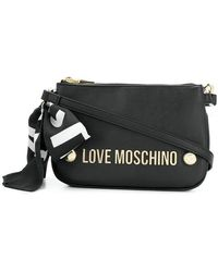 Love Moschino - Scarf Bow Shoulder Bag - Lyst