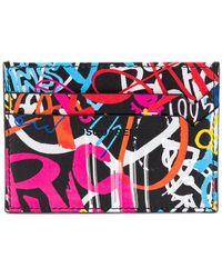 DSquared² - Graffiti Print Card Holder - Lyst