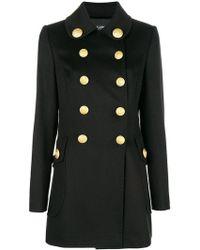 Dolce & Gabbana - Abrigo ajustado con doble botonadura - Lyst