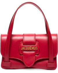 Jacquemus - Red Le Sac Minho Leather Mini Bag - Lyst